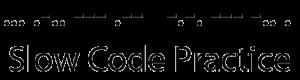 Slow Code Practice Net Logo