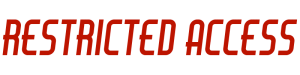 Restricted Access Logo